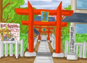 鬼姫神社想像図